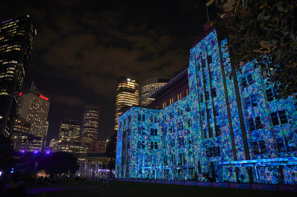 Vivid Sydney 2019 MCA Let Me Down